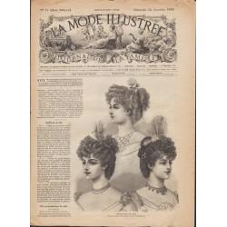 журнал мода La Mode Illustrée 1895 N°51