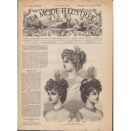 Revue complète de La Mode Illustrée 1895 N°51