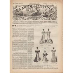 Revue complète de La Mode Illustrée 1893 N°51