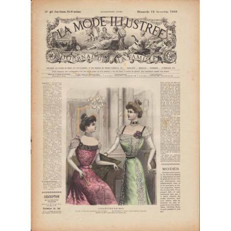 Complete magazine La Mode Illustrée 1899 N°46