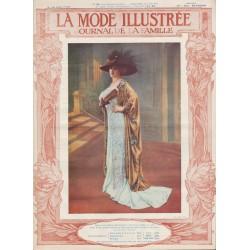 Complete magazine La Mode Illustrée 1910 N°24