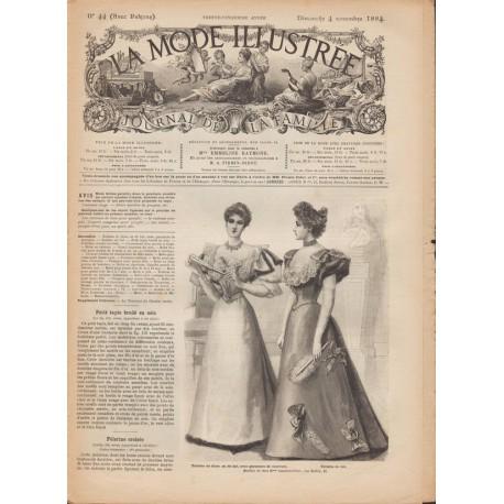 Complete magazine La Mode Illustrée 1894 N°44