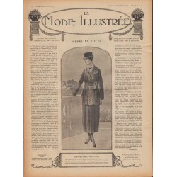 Complete magazine La Mode Illustrée 1918 N°22