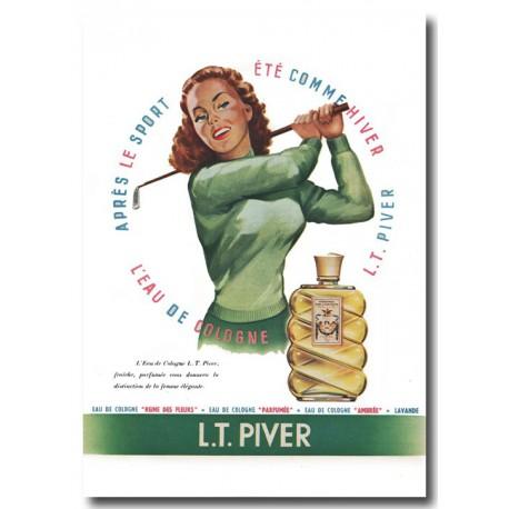 Publicité Eau de cologne Pivert