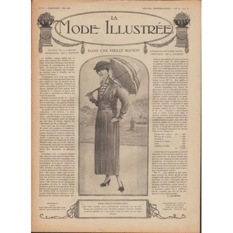 Complete magazine La Mode Illustrée 1918 N°18