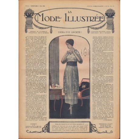 Revue complète de La Mode Illustrée 1918 N°21