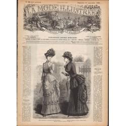Complete magazine La Mode Illustrée 1883 N°38