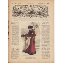 Complete magazine La Mode Illustrée 1899 N°40