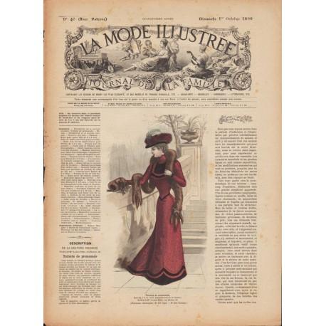 Revue complète de La Mode Illustrée 1899 N°40