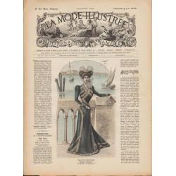 Revue complète de La Mode Illustrée 1899 N°23
