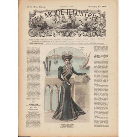 Complete magazine La Mode Illustrée 1899 N°23