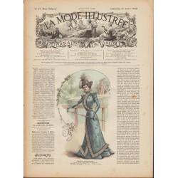 Complete magazine La Mode Illustrée 1899 N°31