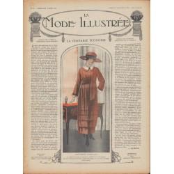 Complete magazine La Mode Illustrée 1918 N°11