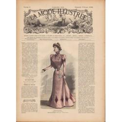 Complete magazine La Mode Illustrée 1899 N°06