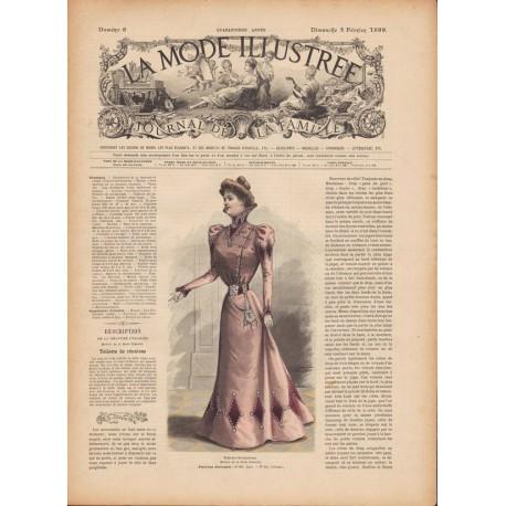 Revue complète de La Mode Illustrée 1899 N°06