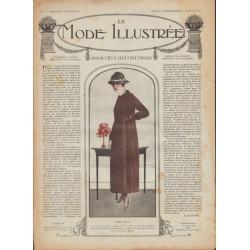 Complete magazine La Mode Illustrée 1918 N°05