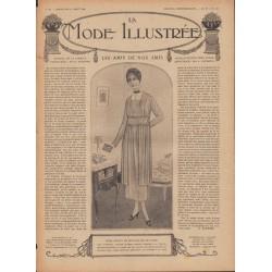 Complete magazine La Mode Illustrée 1918 N°32