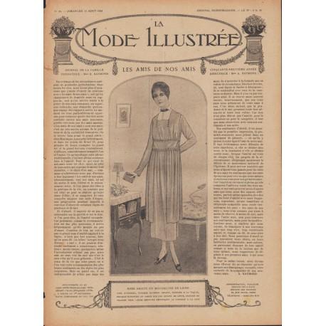 Revue complète de La Mode Illustrée 1918 N°32