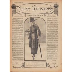 Revue complète de La Mode Illustrée 1918 N°06