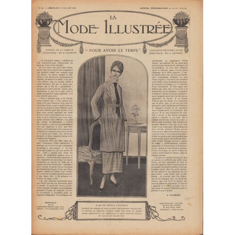 revue-mode-broderie-robes-napperon-1918 N°21