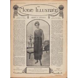 Complete magazine La Mode Illustrée 1918 N°02