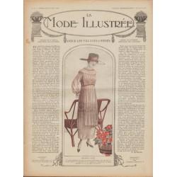 Complete magazine La Mode Illustrée 1918 N°15