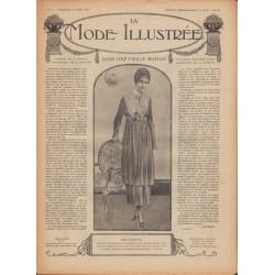 Complete magazine La Mode Illustrée 1918 N°16