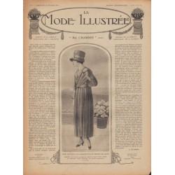 Complete magazine La Mode Illustrée 1918 N°08