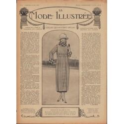 Complete magazine La Mode Illustrée 1918 N°34