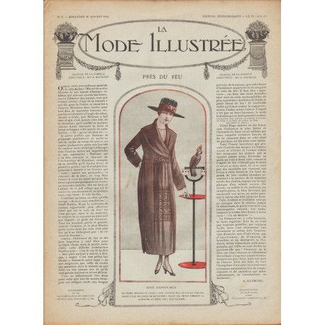 Revue complète de La Mode Illustrée 1918 N°03