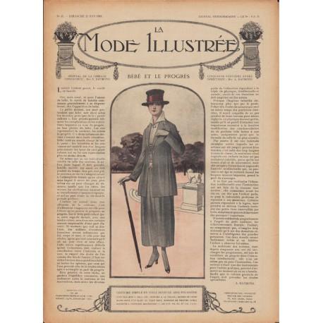 Complete magazine La Mode Illustrée 1918 N°25