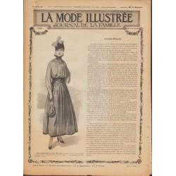 Complete magazine La Mode Illustrée 1916 N°10