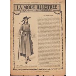 Revue complète de La Mode Illustrée 1916 N°52