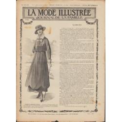 Complete magazine La Mode Illustrée 1916 N°06