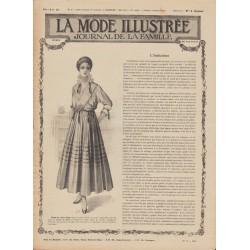 Complete magazine La Mode Illustrée 1916 N°19