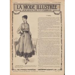 Complete magazine La Mode Illustrée 1916 N°22