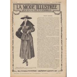 Complete magazine La Mode Illustrée 1916 N°41