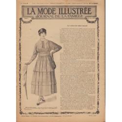 Revue complète de La Mode Illustrée 1916 N°50