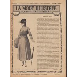 Complete magazine La Mode Illustrée 1916 N°45