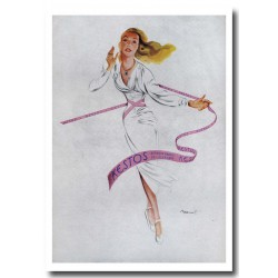 Publicité lingerie Kestos 1947