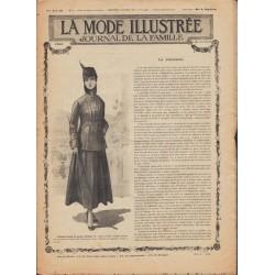 Complete magazine La Mode Illustrée 1916 N°02