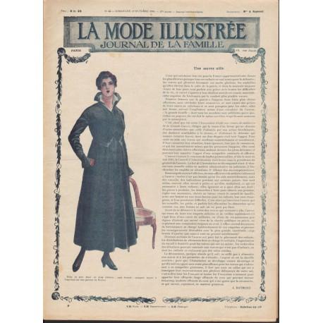 magazine La Mode Illustrée 1916 N°44