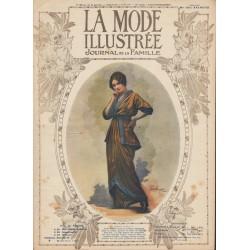 Revue complète de La Mode Illustrée 1914 N°24