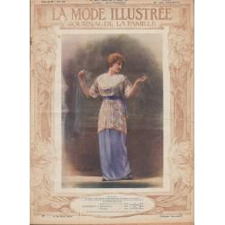 Revue complète de La Mode Illustrée 1914 N°10