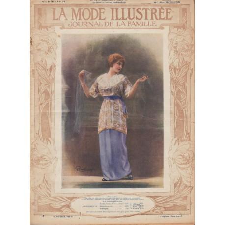 Revue La Mode Illustrée 1914 N°10
