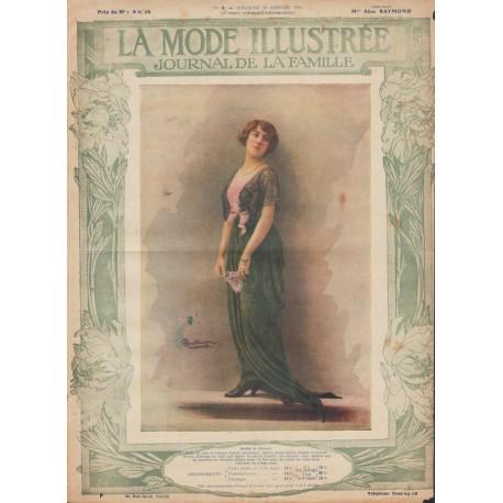 magazine La Mode Illustrée 1914 N°03