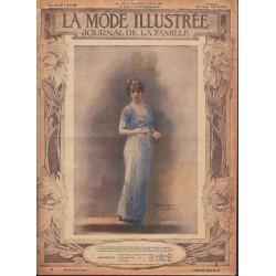 magazine La Mode Illustrée 1914 N°14