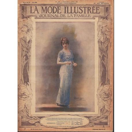 Revue de La Mode Illustrée 1914 N°14