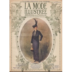 Revue complète de La Mode Illustrée 1914 N°17