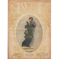 Revue complète de La Mode Illustrée 1914 N°4
